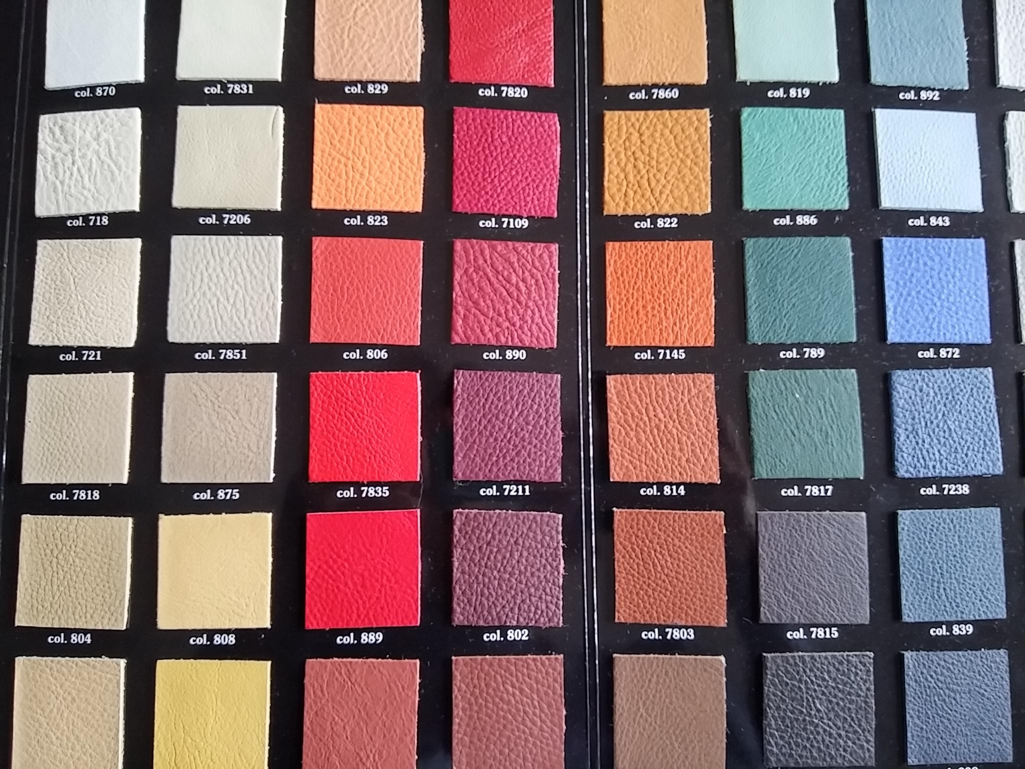 La pelle tipologie e manutenzione delle pelli per divani for Pelli per arredamento